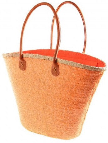 Orange Bailey Sequin Basket