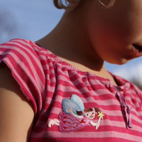 Little Girls Iron-On Clothes Patches