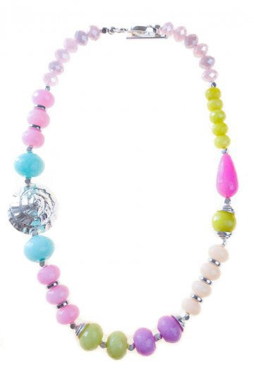 Multi Izidora Shell Necklace
