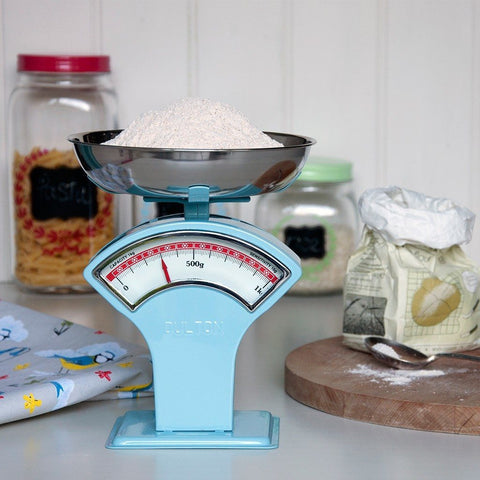 Blue Vintage Shop Scales