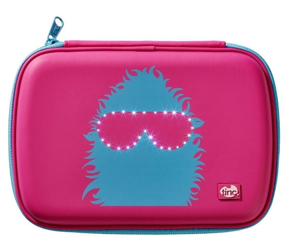 Pink/Blue Tinc GlowGo Pencil Case