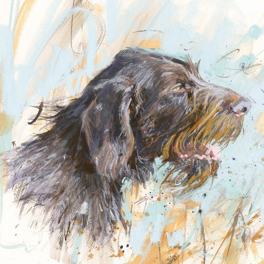 Wirehaired German Pointer Card
