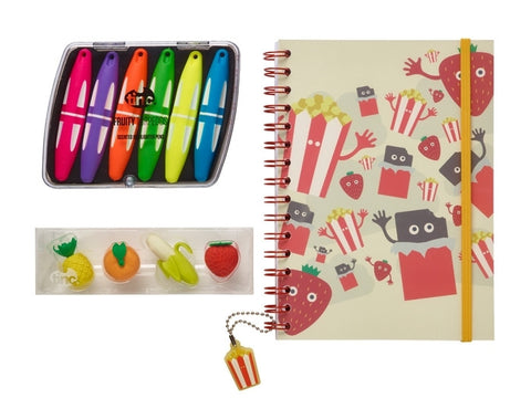 Green Tinc Sweet Treats Notebook Gift Set
