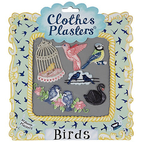 Bird Iron-On Clothes Patches