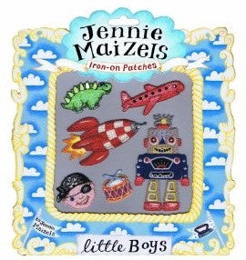 Little Boys Iron-On Clothes Patches