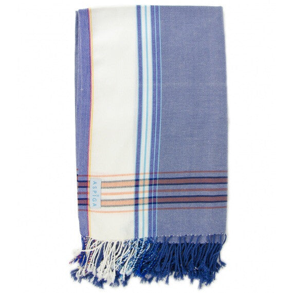 Blue Navy Murenga Stripe Kikoy