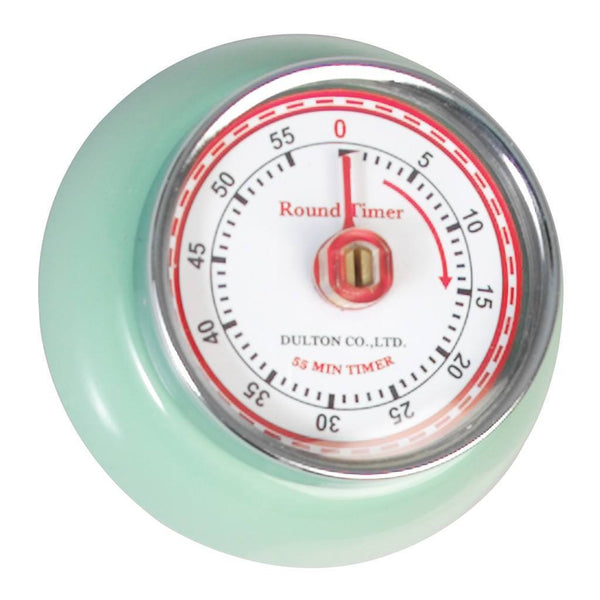 Green Vintage Magnetic Kitchen Timer