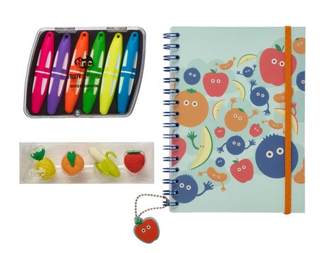 Blue Tinc Tutti Frutti Notebook Gift Set
