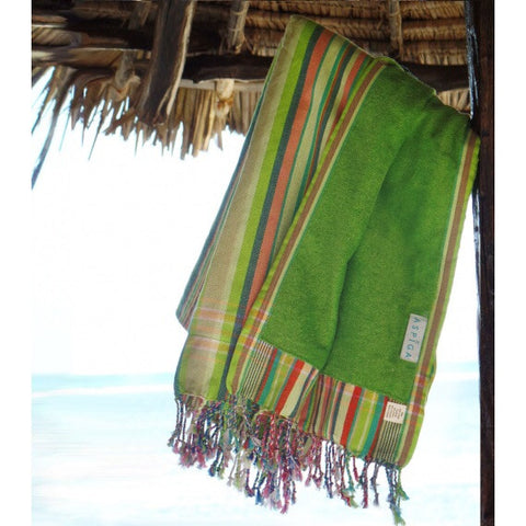 Lime Green Kijani Kikoy Towel
