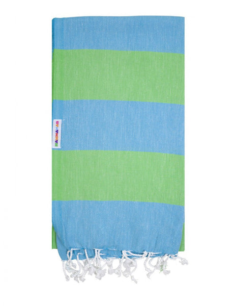 Aqua/Apple Hammamas Cotton Towel/Wrap