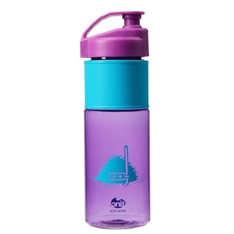 Purple/Blue Tinc Snorkel Guy Flip Top Water Bottle