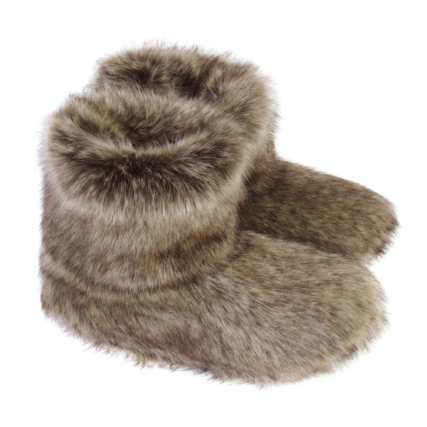 Truffle Faux Fur Slipper Boots