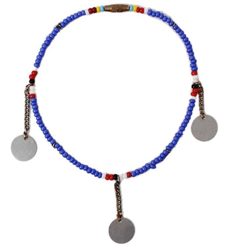 Blue Bangle Maasai Beaded Anklet