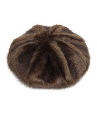 Treacle Faux Fur Beret