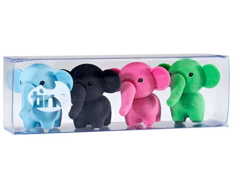 Scented Tinc Elephant Erasers