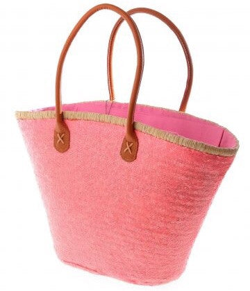 Pink Bailey Sequin Basket