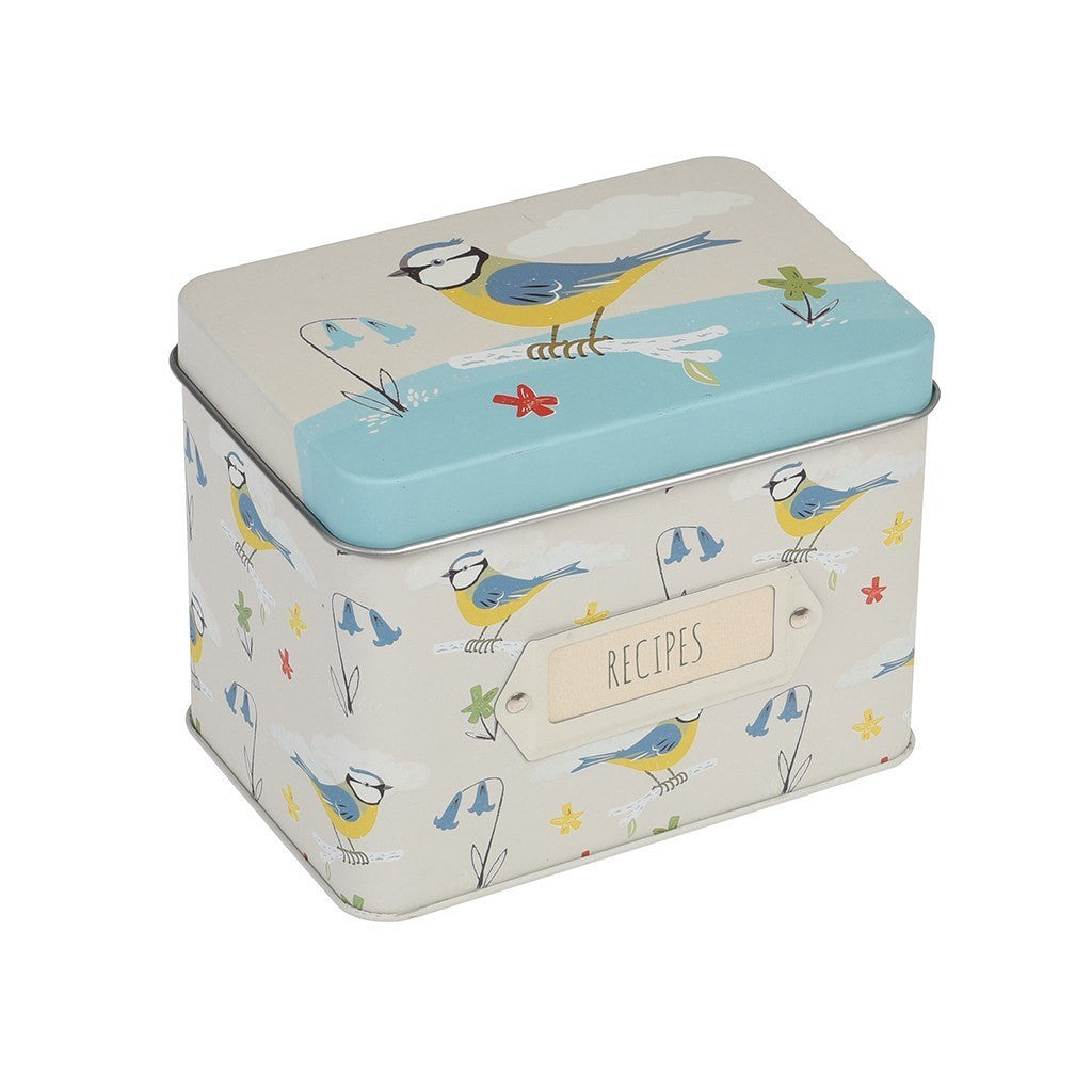 Blue Tit Recipe Tin
