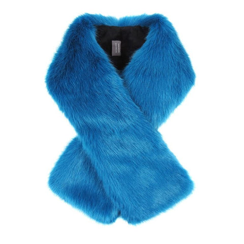 Kingfisher Faux Fur Tippet Scarf