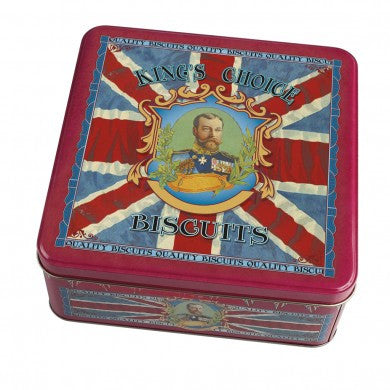 Vintage Kings Choice Biscuit Tin