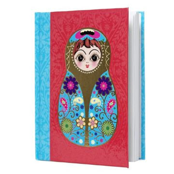 Large Red Babushka Notebook