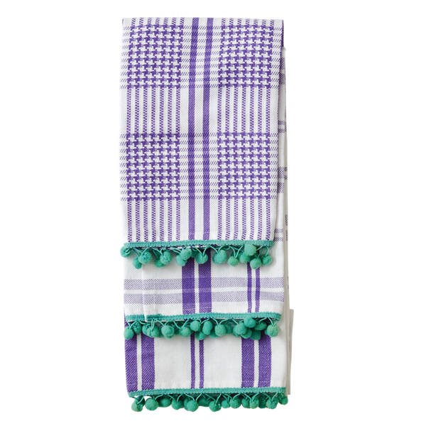 3 Assorted Lavender Tea Towels