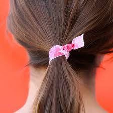 Pink & Blueberry Hair Ties & Wrist Bands