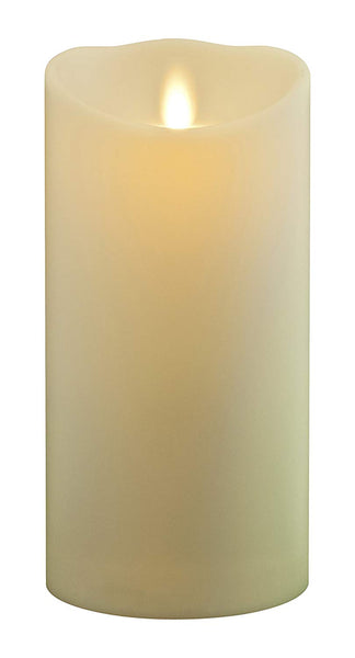 Luminara Wax Pillar Candle 18cm