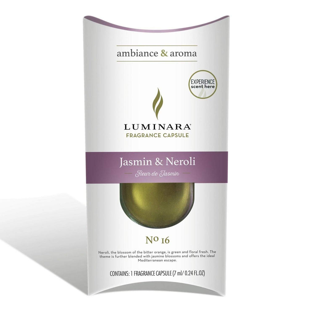 Luminara Fragranced Diffusing Candle Jasmin & Neroli Fragrance Pod