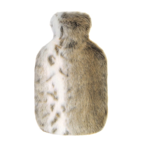 Lynx Faux Fur Hot Water Bottle