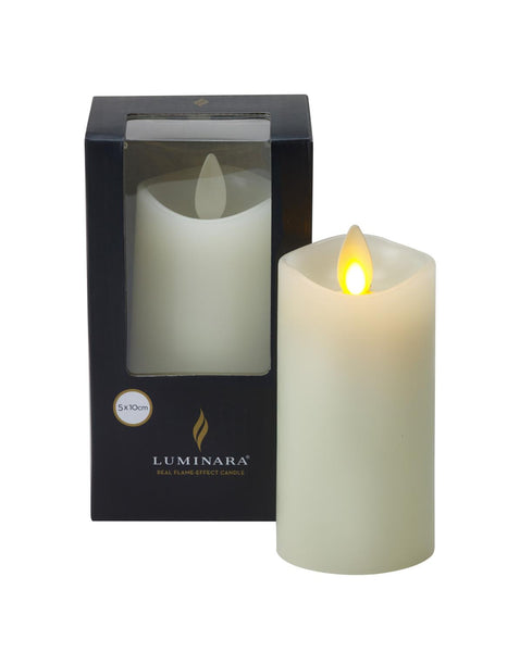 Luminara Living Flame Effect LED Mini Pillar Candle 10cm