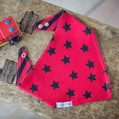 Fire Engine & Soldier Bandana Bib