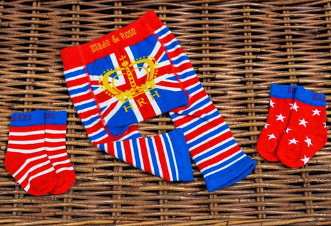 HRH Union Jack Socks