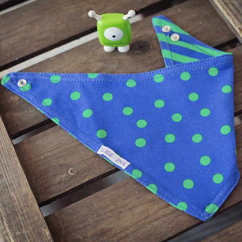 Monster Reversible Bandana Bib