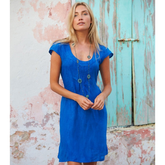Blue Peacock Paris Linen Dress