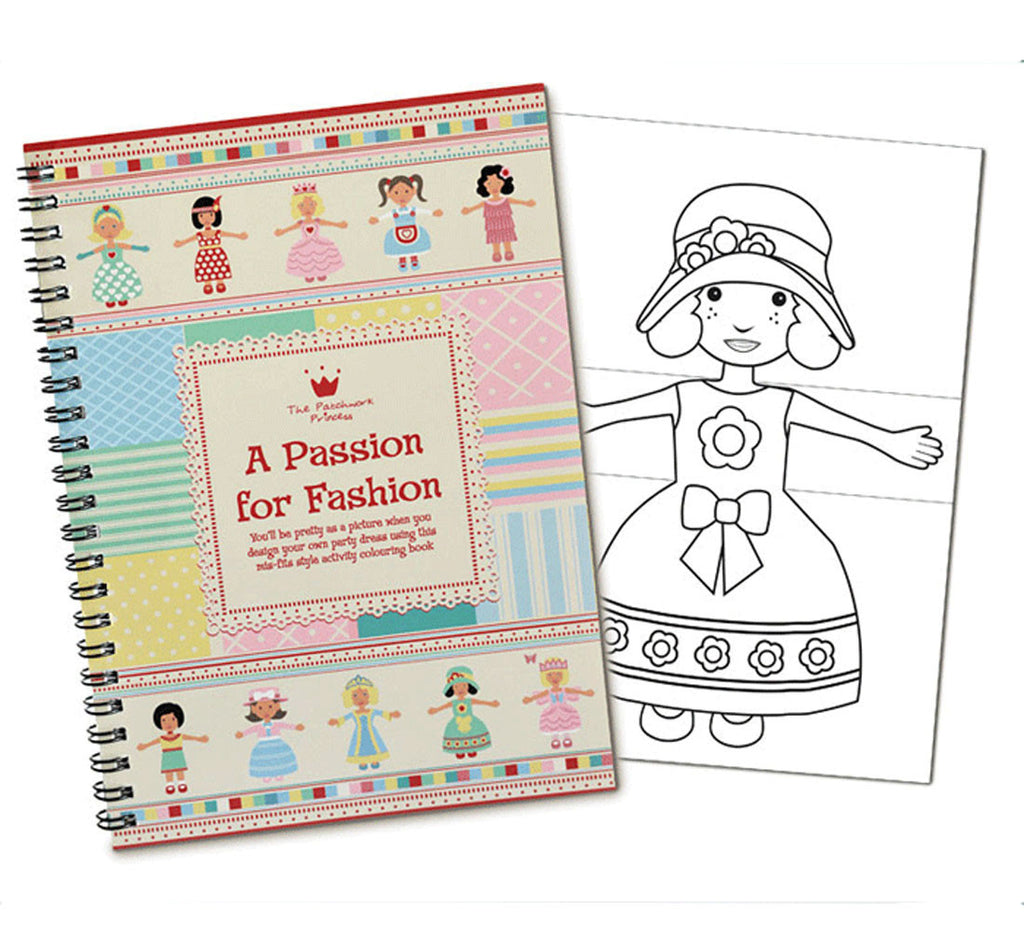 Passion for Fashion Colouring Book