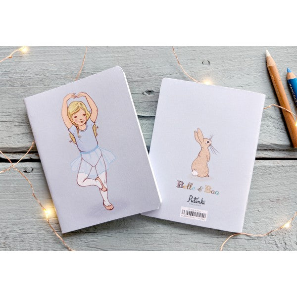 Belle & Boo Pirouette Mini Notebook