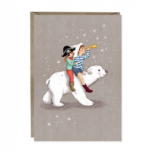 Belle & Boo Polar Adventure Card