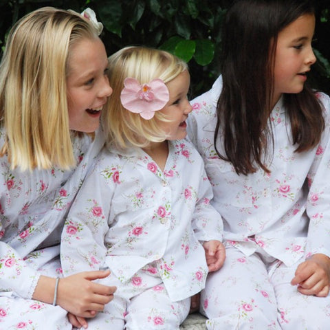 Floral Rose Cotton Pyjamas