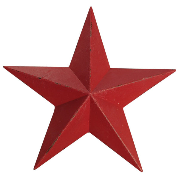 Antique Red Decorative Barnstar