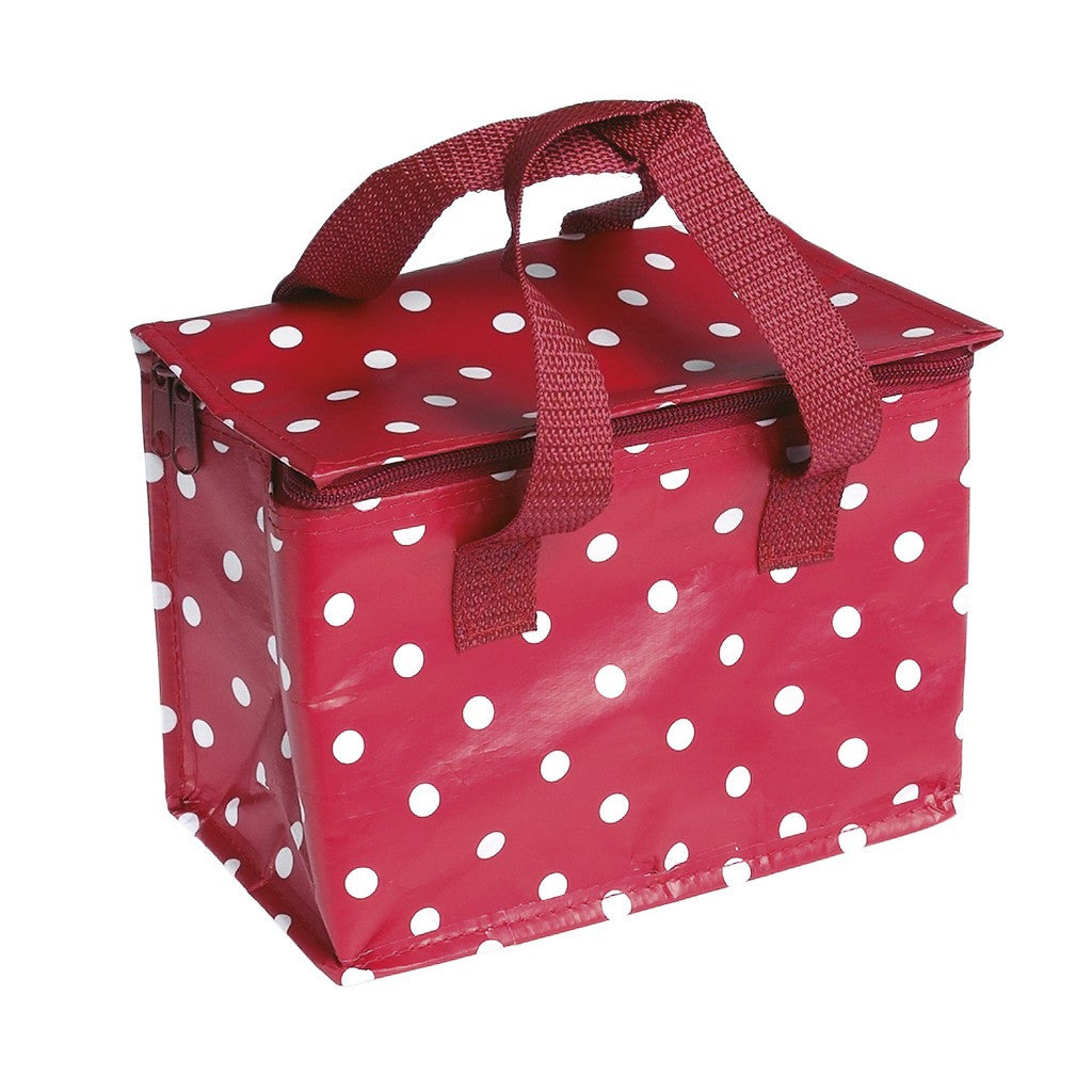 Red Spotty Lunch/Cool Bag