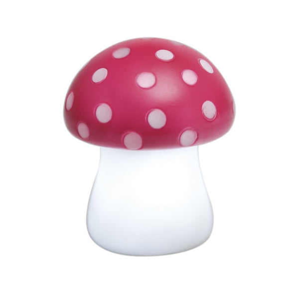 Red Toadstool Night Light