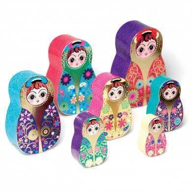 Babushka Nesting Boxes - Set of 7