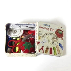 Sewing Kit in a Tin