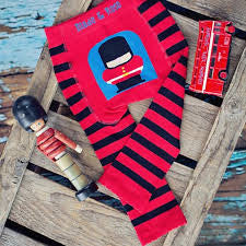 Fire Engine & Soldier Socks - 2 Pack
