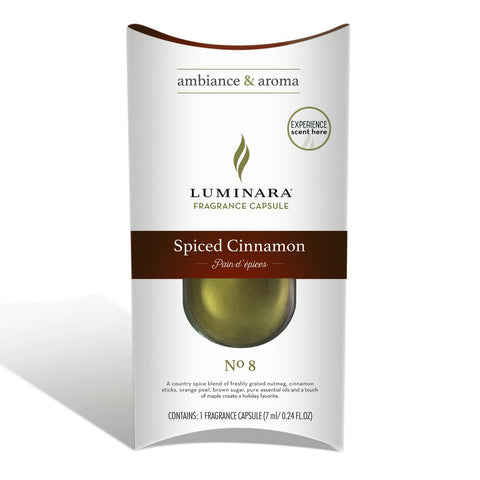 Spiced Cinnamon Fragrance Pod For Luminara Fragranced Diffusing Candle
