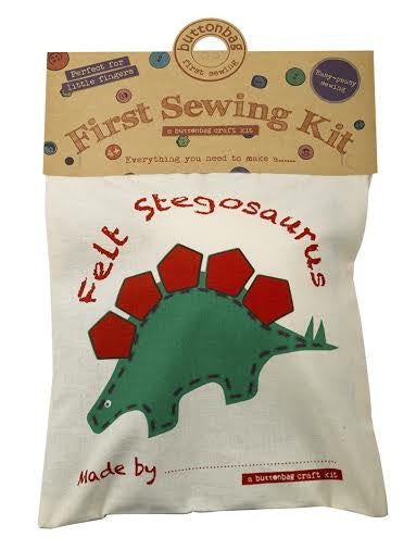 Stegosaurus First Sewing Kit