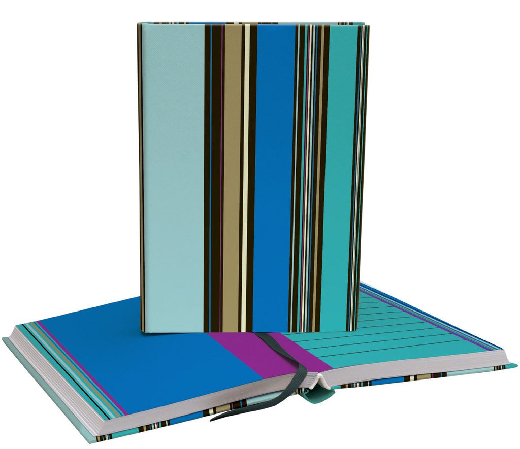 Striped Deluxe Softback Journal