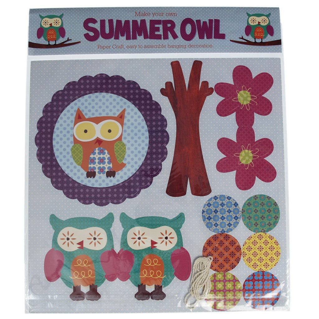 Make Your Own Summer Owl Mobile