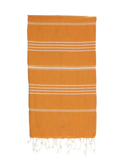 Tangerine Hammamas Cotton Towel/Wrap