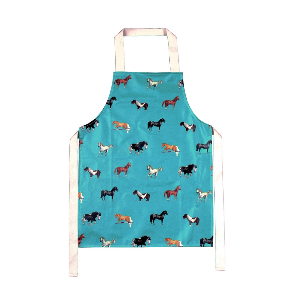 Children's Kitchen Apron - Horses